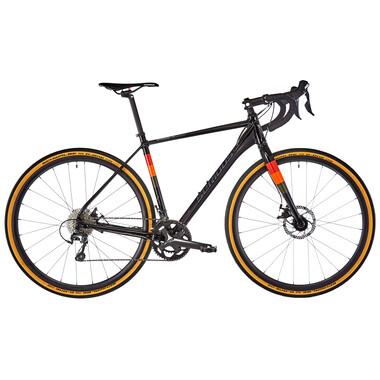 Bicicleta de Gravel SERIOUS GRAFIX Shimano Tiagra 30/46 Negro/Naranja 2020